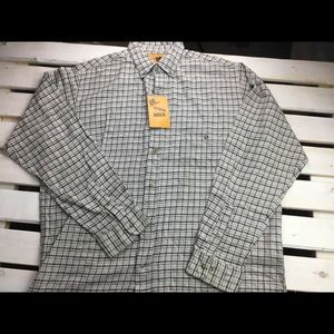 Men's Flannel Cotton 2xl Shirt Outback Rider.  T10